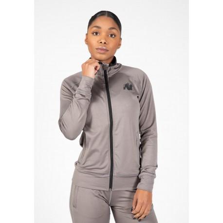 Gorilla Wear USA Cleveland Track Jacket - czarna damska bluza dresowa