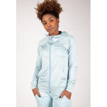Gorilla Wear USA Vici Jacket - błękitny bluza damska na siłownie