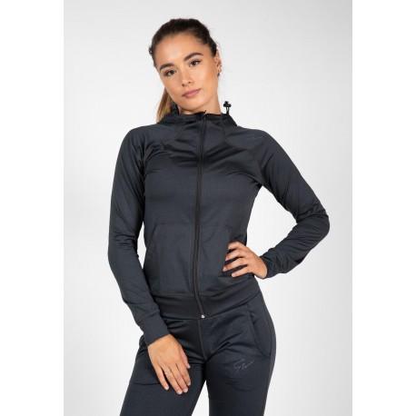 Gorilla Wear USA Vici Jacket - Granatowy bluza damska na siłownie
