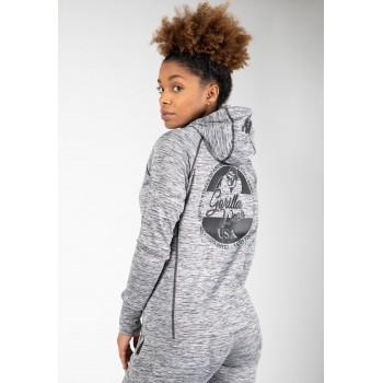 Shawnee Zipped Hoodie - Mixed Grey