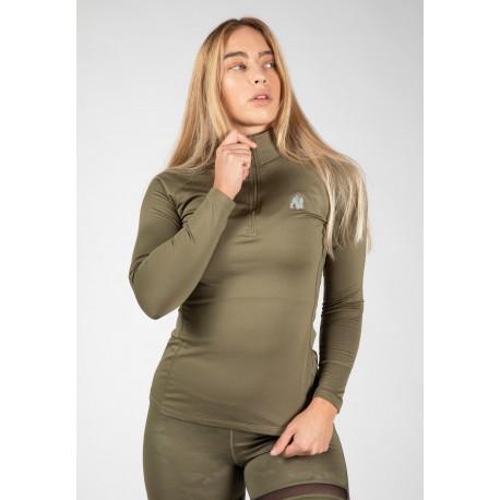 Melissa Longsleeve - Army Green