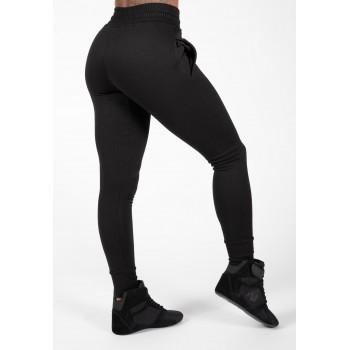 Pixley Sweatpants Czarne - Damskie spodnie dresowe