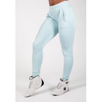 Gorilla Wear USA Vici Pants - Błękitny Spodnie damskie na siłownie