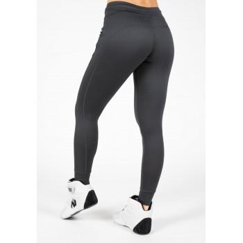 Gorilla Wear USA Vici Pants - Grafitowy Spodnie damskie na siłownie