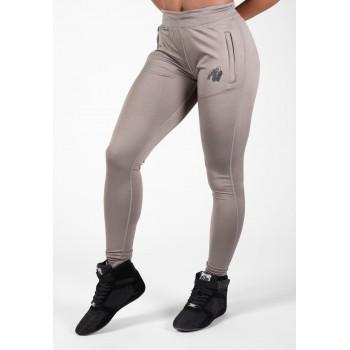 Gorilla Wear USA Cleveland Track Pants - szare damskie spodnie treningowe