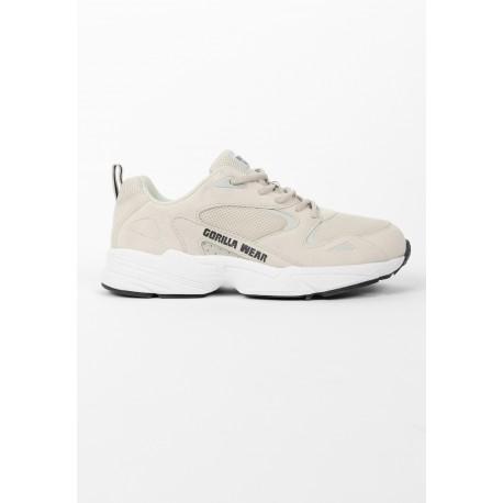 Newport - beżowe buty sneakers