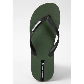 Kokomo Flip-Flops - zielone klapki
