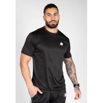 Fargo T-shirt - czarna koszulka sportowa męska