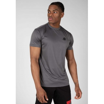 Fargo T-shirt - szara koszulka sportowa męska