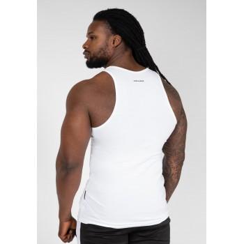Adams Stretch - biały tank top męski