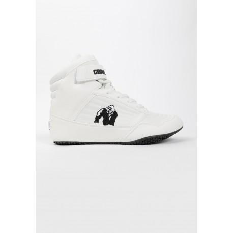 High Tops - białe buty za kostkę na siłownie