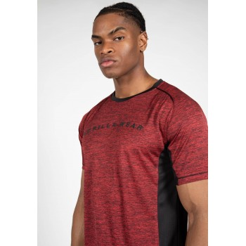 Fremont - bordowa koszulka sportowa