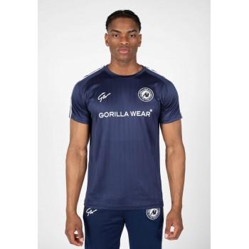 Stratford T-shirt - granatowa koszulka treningowa