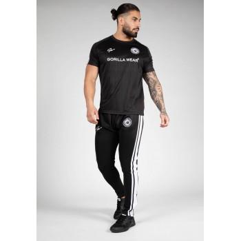Stratford T-shirt - czarna koszulka treningowa