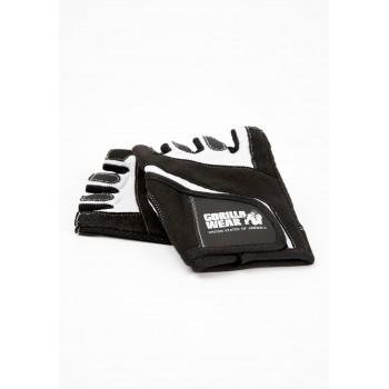 Women's Fitness Gloves - czarno/białe damskie rękawiczki treningowe