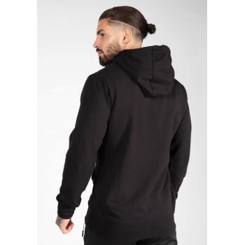 Palmer Hoodie - czarna bluza z kapturem