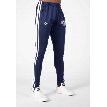 Stratford Track Pants - granatowe spodnie dresowe