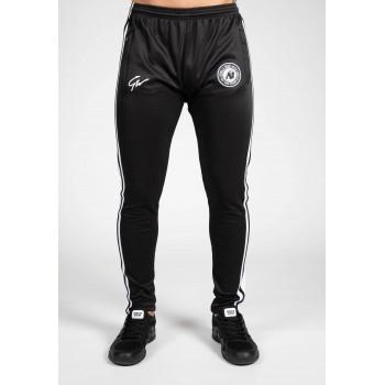 Stratford Track Pants - czarne spodnie dresowe