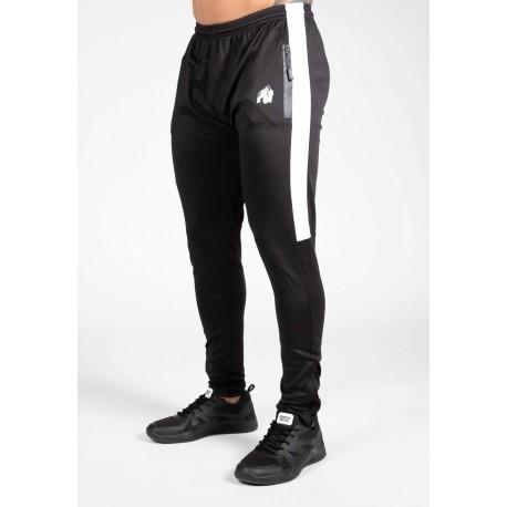 Benton Track Pants - czarne spodnie dresowe