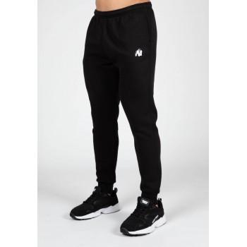 Kennewick Sweatpants - czarne spodnie dresowe