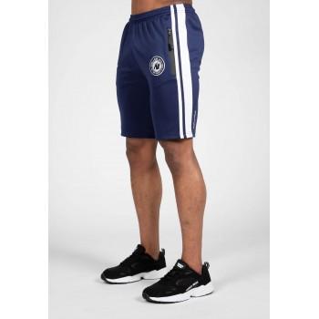 Stratford Track Shorts - granatowe spodenki sportowe