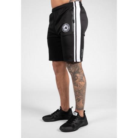 Stratford Track Shorts - czarne spodenki sportowe