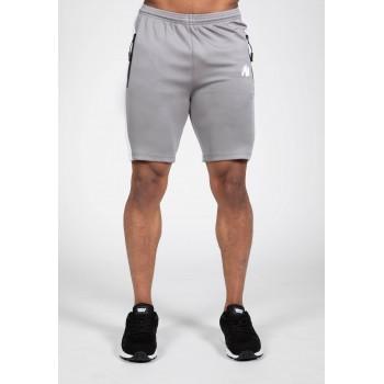 Benton Track Shorts - szare spodenki dresowe