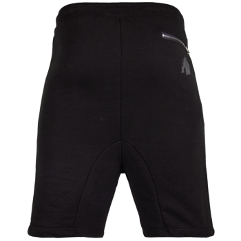 Alabama Drop Crotch Shorts, Black