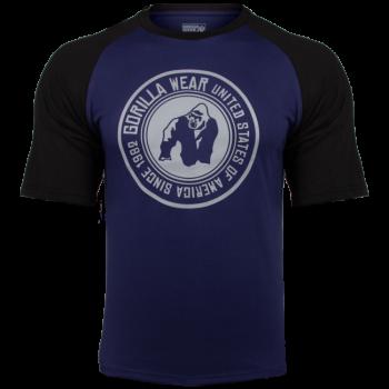 Texas T-Shirt, Navy/Black