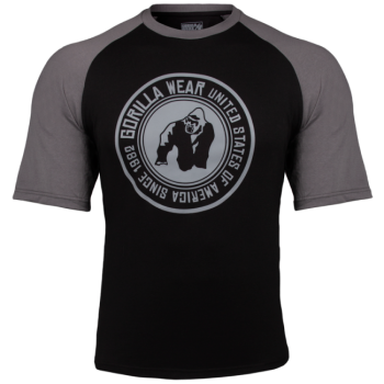 Texas T-Shirt, Black/Grey