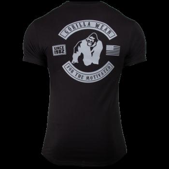 Detroit T-Shirt, Black