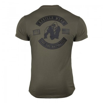 Detroit T-Shirt, Army Green