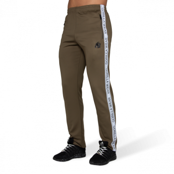 Wellington Track Pants - Army Green