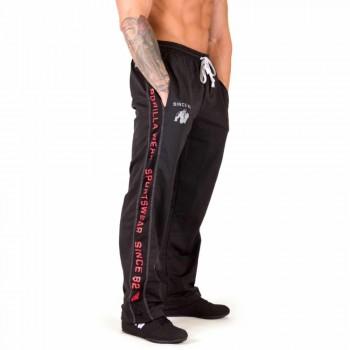 Functional Mesh Pants Black/Red
