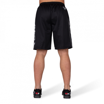 Functional Mesh Shorts - Black/White