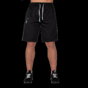 Functional Mesh Shorts - Black/Red