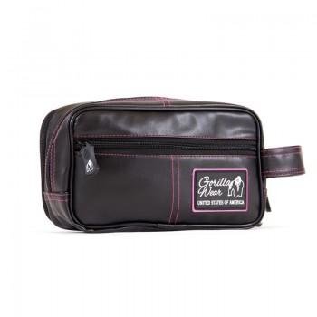 Toiletry Bag - Black/Pink