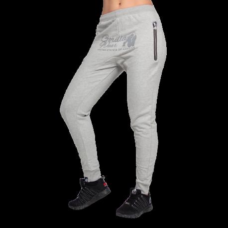 Celina Drop Crotch Joggers - Grey