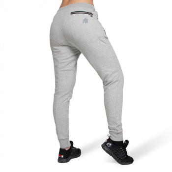 Celina Drop Crotch Joggers - Grey