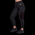 Savannah Mesh Tights - czarne legginsy sportowe damskie