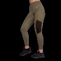 Savannah Mesh Tights - zielone legginsy sportowe damskie