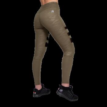 Savannah Biker Tights - Army Green Camo