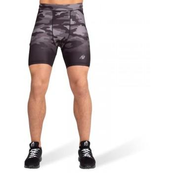 Franklin Shorts, Black/Grey Camo