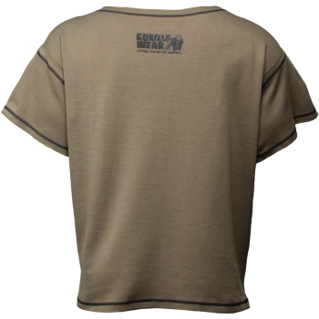 Sheldon Work Out Top, Army Green