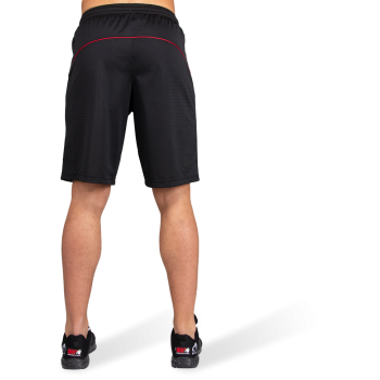 Branson Shorts, Black/Red