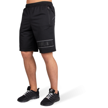 Branson Shorts, Black/Grey