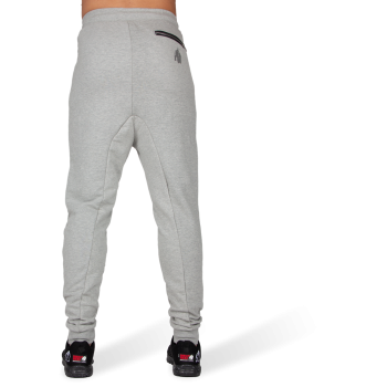 Alabama Drop Crotch Joggers, Grey