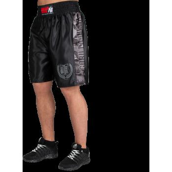 Vaiden Boxing Shorts - Black/Grey Camo