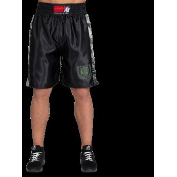 Vaiden Boxing Shorts, Army Green Camo