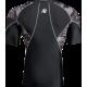 Cypress Rashguard Short Sleeve, Black/Grey Camo